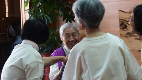 【同圓分享】飽滿稻穗的人生智慧--台南圓場陳  珠師姊的生命故事
